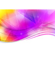 Colorful abstract template - background vector image vector image
