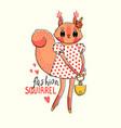 fashion kawaii animal a vector image