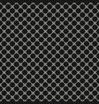 monochrome seamless pattern circular lattice mesh vector image vector image