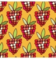 pattern of berries vector image