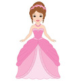 Princess with Tiara vector image