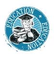 School college logo design template vector image vector image