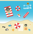 483summer vacation vector image vector image