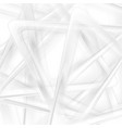 abstract tech light grey triangles geometric vector image vector image