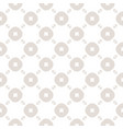 beige and white seamless pattern with circles vector image vector image
