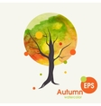 Creative Autumn Background vector image