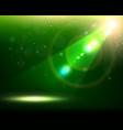 Green Spotlight Background vector image