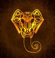 Head Ganesha vector image vector image