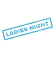 Ladies Night Rubber Stamp vector image vector image