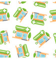 pharmacy drugstore shop seamless pattern vector image