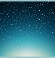 snowy background for your christmas design vector image vector image