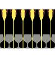 Background Bottle Ilustration vector image vector image