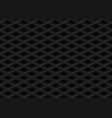black embossed pattern plastic grid vector image vector image