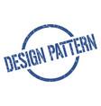 design pattern stamp vector image