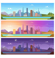 different day time night morning night day vector image