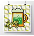 food icons poster 16 vector image vector image