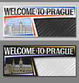 layouts for prague vector image