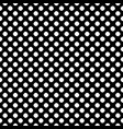 seamless polka dot pattern dotted texture vector image vector image