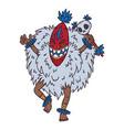 tribal dancer vector image