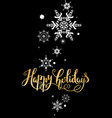 very merry christmas card vector image vector image