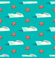 yacht travel seamless pattern vector image vector image