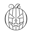 abstract halloween object vector image vector image