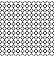 black and white tile chessboard pattern with vector image vector image
