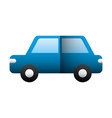 car sedan isolated icon vector image vector image