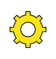engineering industry gear and mechanical vector image vector image