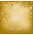 Happy New Year Card vector image vector image