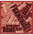 How Will You Know If A Home based Franchise vector image vector image
