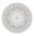 mandala coloring oriental pattern traditional vector image vector image