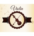Music icons design vector image