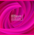 pink wave brush shape abstract background 3d vector image