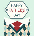 poster happy father day vector image vector image