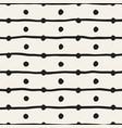 seamless childlike pattern monochrome hand vector image vector image