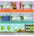 set of school concept banners Interior vector image vector image
