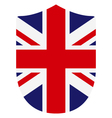 flag of britain vector image vector image