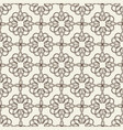 lacy seamless pattern on floral theme vector image