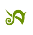 Letter A Logo Concept Icon vector image