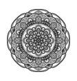 mandala flower vector image