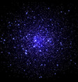 space galaxy background with stars vector image