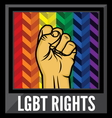 lgbt rights1 vector image