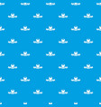 chocolate sweet shop pattern seamless blue vector image vector image