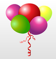 Color set balloons vector image vector image