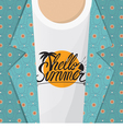 Hello Summer Shirt vector image vector image