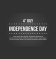 independence day collection stock background vector image vector image