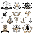 nautical2 vector image vector image