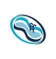 pool restoration service vector image