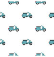 scooted pattern flat vector image vector image